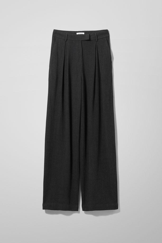 Weekday-svart bukse