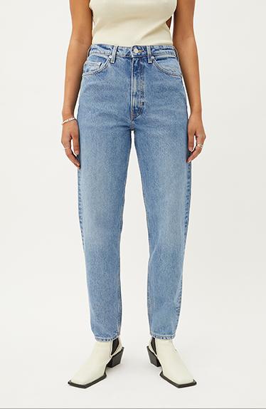 Hailey Bieber Inspirert Weekday Jeans