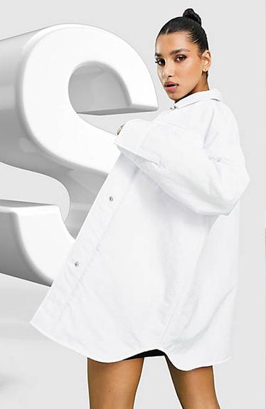 Hailey Bieber Inspirert White Jacket